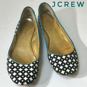 JCREW CANVAS FLAT